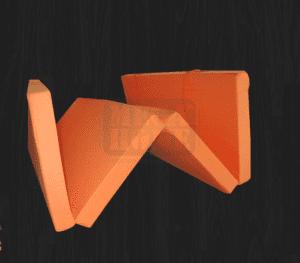 Сгъваем матрак 7 см x 195 см х 120 см