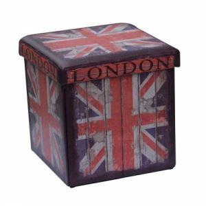 Табуретка Лондон от изкуствена кожа