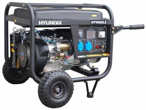 Мотогенератор Hyundai HY10000 LEK