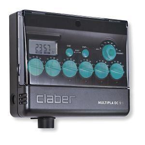 Компютър за напояване Claber Multipla DC 9 V / LCD