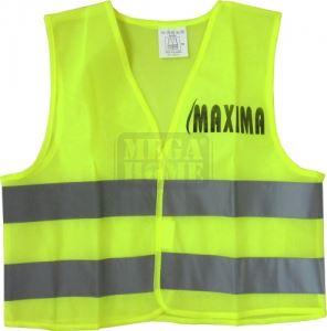 Светлоотразителна жилетка с велкро Maxima