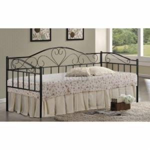 Единично метално легло BELLA 96 х 208 х 102 см