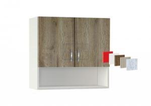 Горен кухненски шкаф с рафт Лукс 80 Р ИРИМ