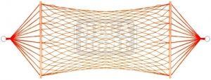 Хамак плетен 200 x 80 см Maxima