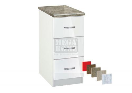 Кухненски шкаф с три чекмеджета Лукс 403