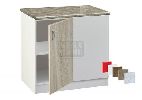 Кухненски шкаф за ъгъл с рафт Лукс 1001