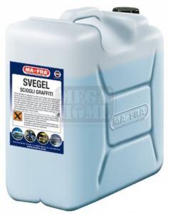 Гел за премахване на следи от цветен спрей Ma-fra Svegel