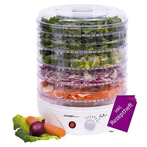 Уред за изсушаване на плодове и зеленчуци First FA-5126-2 240 W