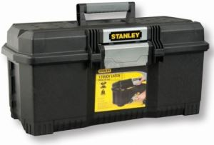 Пластмасов куфар за инструменти Stanley One Latch 24