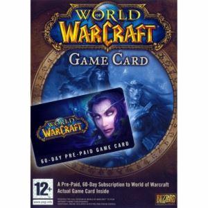 Предплатена карта за World of Warcraft 60 Day | PC