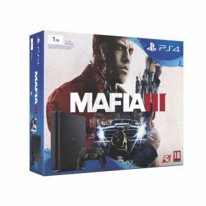 Комплект конзола Sony PlayStation 4 1TB и игра Mafia III Bundle