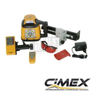 Самонивелиращ се ротационен лазерен нивелир CIMEX HV500L
