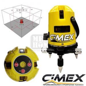 Самонивелиращ лазерен нивелир CIMEX 1H4V