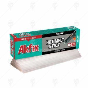 Силикон на пръчки Akfix HM208 ф 11 безцветен 1 kг 33 бр