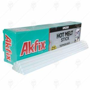Силикон на пръчки Akfix HM208 ф 8 безцветен 1 kг 78 бр