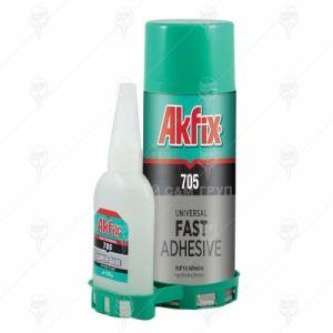 Бързо залепващо универсално лепило с активатор Akfix 705