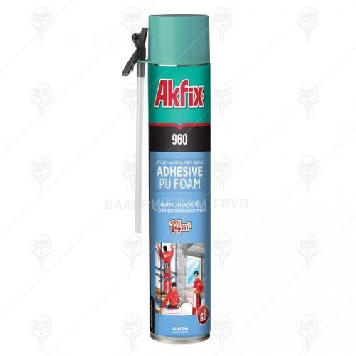 Лепило за изолация Akfix PU-960 NEW ръчно 14 м2 12 бр
