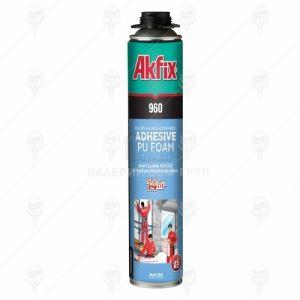 Лепило за изолация Akfix PU-960P за пистолет 14м2 12 бр х 800 мл