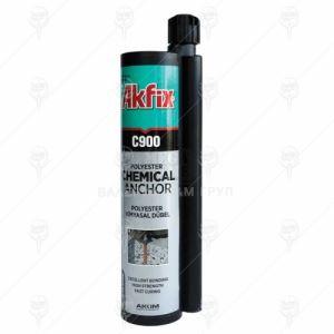 Лепило химически анкер Akfix C900 Polyester 12 бр х 300 - 345 мл