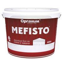 Боя за стени и тавани - бяла Mefisto