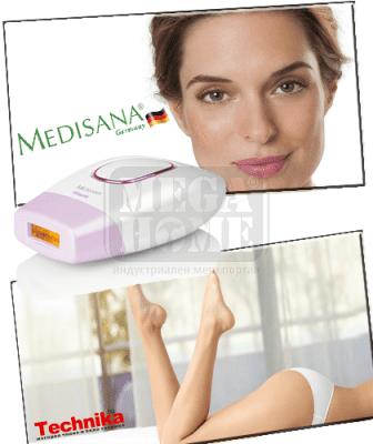 Система за трайно намаляване на окосмяването Medisana IPL 800