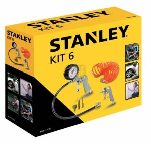Комплект аксесоари за компресор 6 части Stanley 9045717STN