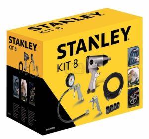 Комплект аксесоари за компресор 8 части Stanley 9045769