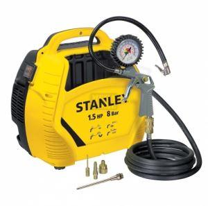 Въздушен компресор 8 бара Stanley 8215190 с аксесоари