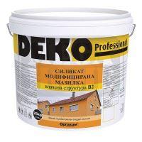 Силикат модифицирана мазилка Deko Professional B2