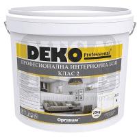 Професионална интериорна боя клас 2 Deko Professional