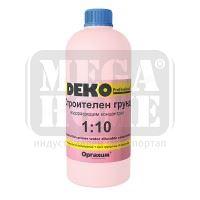 DEKO Professional Строителен грунд водоразредим розов концентрат