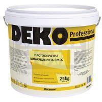 Пастообразна шпакловъчна смес DEKO Professional