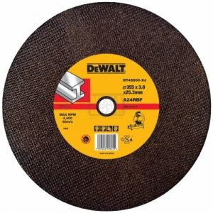 Абразивен диск за рязане на метал Dewalt DT42800 355х25.4х3 мм