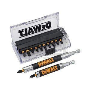Комплект накрайници с магнитни удължители Dewalt DT70512T 14 бр