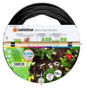 Тръба за капково напояване над земята 4.6 мм 3/16 15 м Gardena