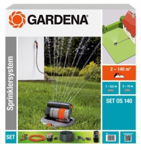 Комплект изскачащ разпръсквач Gardena OS 140