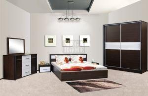 Спален комплект Ари с корпус цвят титан Ларди