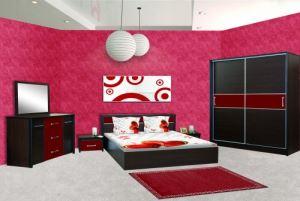 Спален комплект Ари с корпус цвят коко боло Ларди