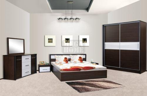 Спален комплект Ари с корпус цвят венге Ларди