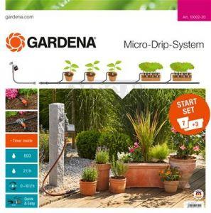 Автоматичен начален комплект за саксии Gardena М