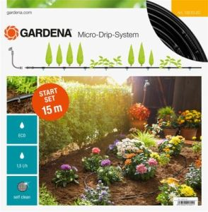 Начален комплект за редици растения 15 м Gardena S