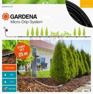 Автоматичен начален комплект за редици растения 25 м Gardena M