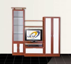 Модулна секция Ларди с корпус цвят череша Ларди