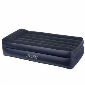 Надуваем матрак с възглавница и помпа Intex 99 х 191 х 42 см