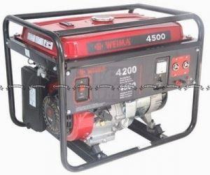 Бензинов генератор Green Garden WM 4500E 4.2 Kw - 4.5 Kw