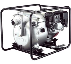 Моторна траш помпа Koshin 2 с двигател Subaru EX17 с датчик