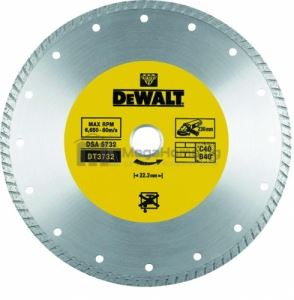 Диамантен диск за сухо рязане DeWALT  ф 230 х 22.23 мм