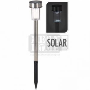 Соларна лампа метал 4.7 х 30.5 см