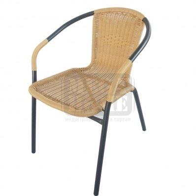 Стол метален PVC ратан TLH-037
