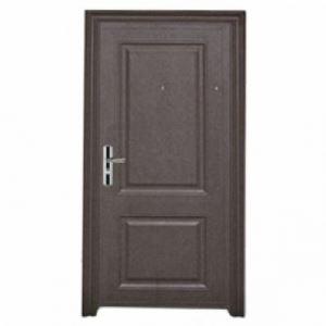 Външна метална врата шагрен с отваряне навън